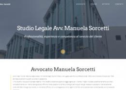 sito web avvocato Manuela Sorcetti