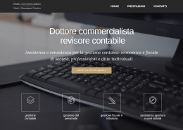 realizzazione sito web commercialista Contin