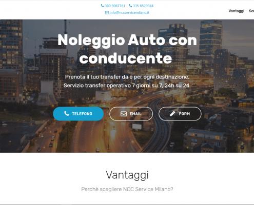 NCC Service Milano