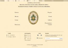 Realizzazione sito ristorante enoteca lombarda