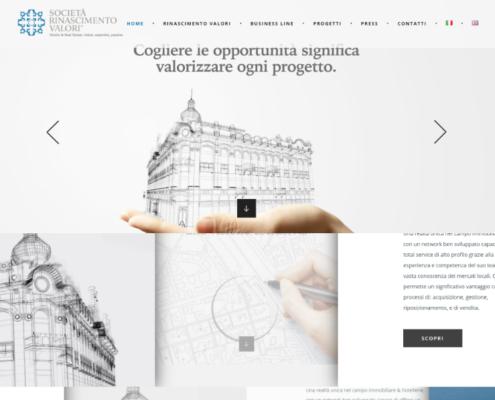 Realizzazione sito web RinascimentoValori