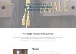 sito internet avvocato colombo