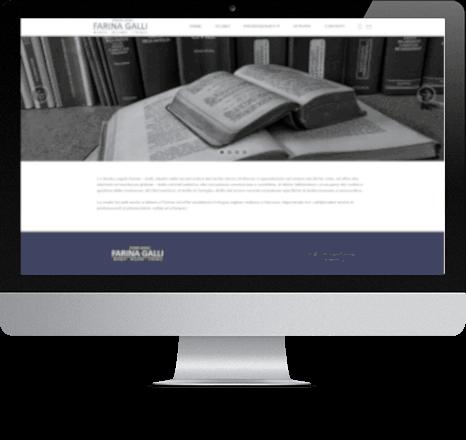 sito web desktop libero professionista