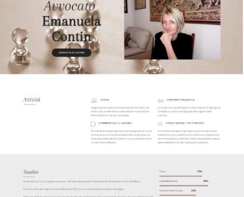 Realizzazione sito web Avvocato Contin