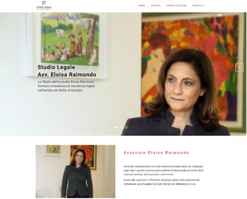 Realizzazione sito web Avvocato Raimondo