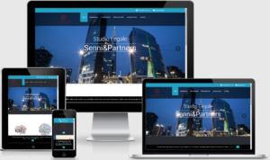 Sito web responsive Studio Legale Senni
