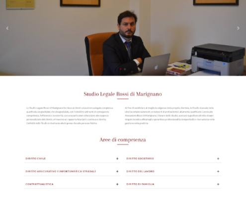 Realizzazione sito web Avvocato Di Marignano