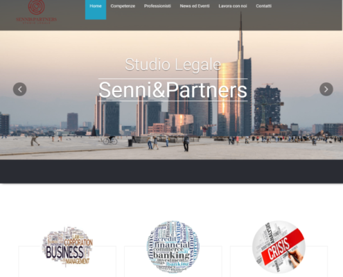 Realizzazione Studio Legale Senni & Partners