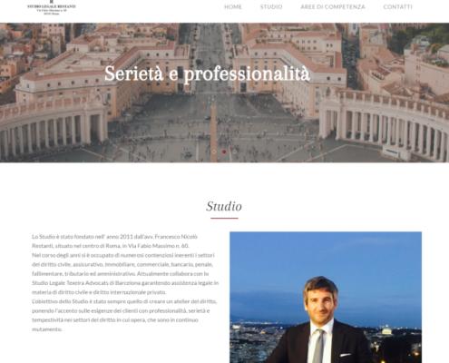 Realizzazione sito Studio Legale Restanti