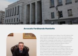 Realizzazione sito per Studio Legale Mambella