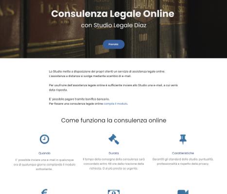 Studio Legale Diaz consulenza online