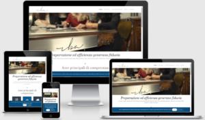 Realizzazione sito web responsive Studio Legale RBA
