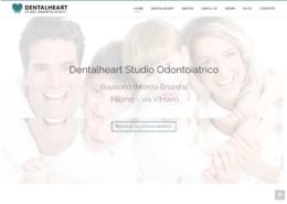 Sito internet studio dentistico Dentalheart