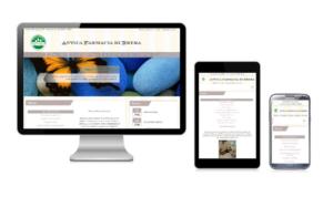 Sito web responsive Farmacia di Brera Milano
