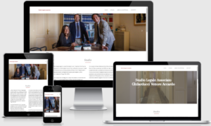 Sito web responsive Studio Legale AVG