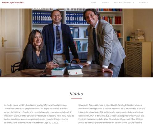 Realizzazione sito web per Studio Legale AVG
